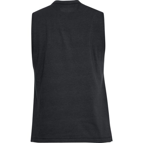 Under Armour Women's Linear Wordmark Muscle Tank Top - view number 2
