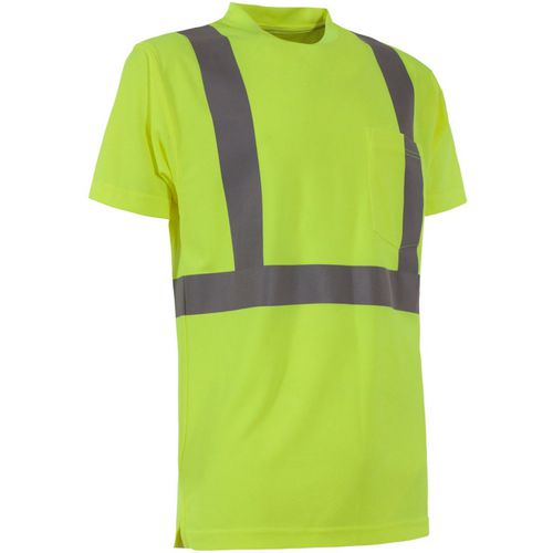 Berne Men's Hi-Visibility Performance Short Sleeve T-shirt