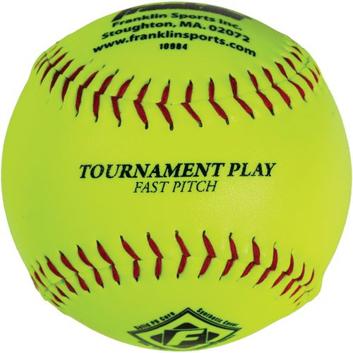 Franklin 12 in Fast-Pitch Softballs 12-Pack