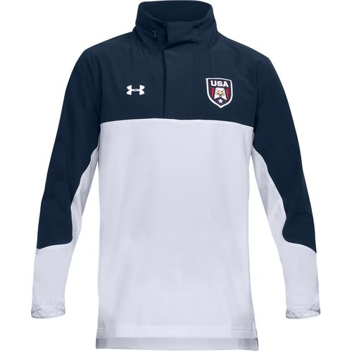 Display product reviews for Under Armour Men's USA Woven 1/2 Zip Top
