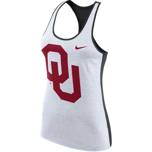 Nike Women's University of Oklahoma Dri-FIT Touch Tank Top