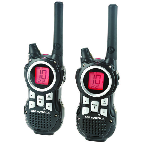 Display product reviews for Motorola Talkabout® MR350R 2-Way Radios 2-Pack