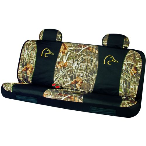 Image for Ducks Unlimited Camo Bench Seat Cover from Academy
