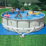 "INTEX® Ultra Frame™ 16' x 48"" Round Pool Set"