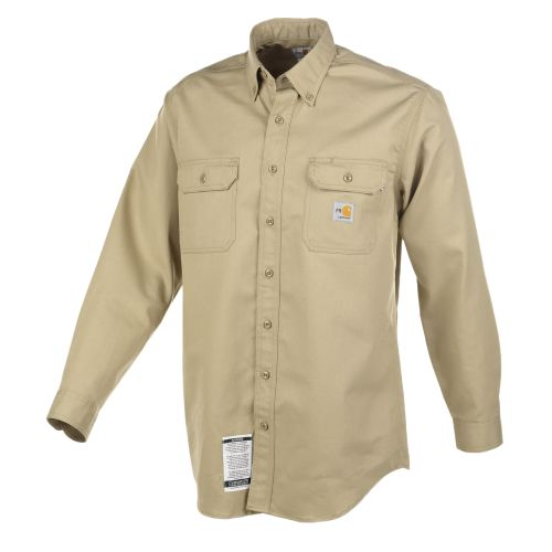 Image for Carhartt Men's Flame Resistant Twill Shirt from Academy