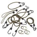 Highland Camouflage Bungee Cords 12-Pack