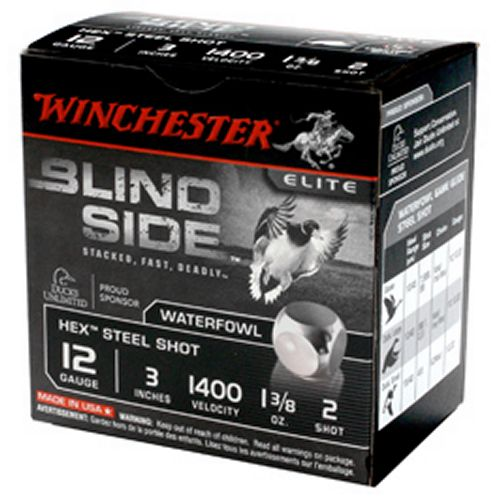 Display product reviews for Winchester Blind Side 12 Gauge Waterfowl Ammunition