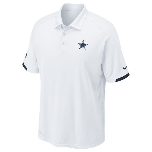 Nike Men s Dallas Cowboys Dri-FIT Practice Polo