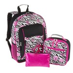 Accessories 22 Girls' Pretty N Sassy Zebra Backpack