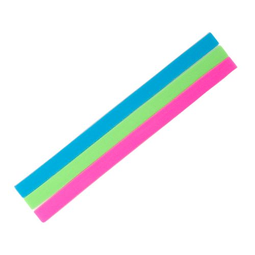 Soffe Neon Headbands 3-Pack