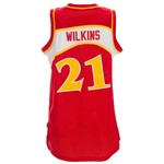 adidas Men's Dominique Wilkins Atlanta Hawks Retired Player Swingman Jersey