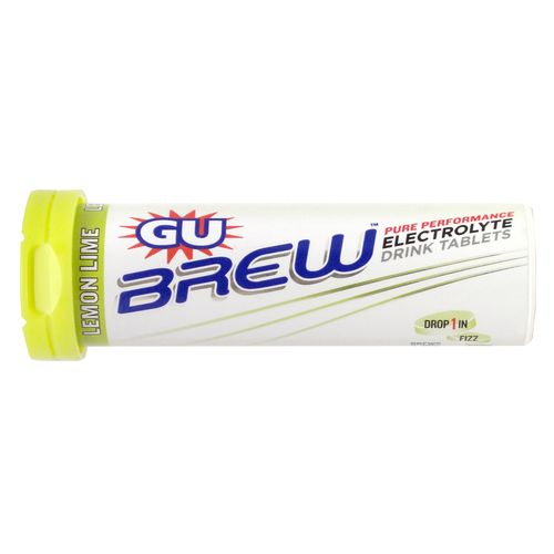 Image for GU Brew Lemon Lime Electrolyte Tabs 12-Pack from Academy