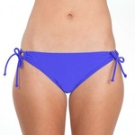 Juniors' Side Tie Swim Bottoms