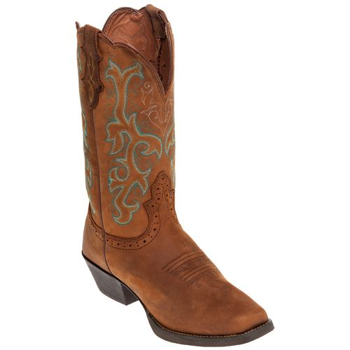 Justin Women's Stampede Sorrel Apache Western Boots - view number 2
