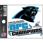 NFL Carolina Panthers 2014 Division Champions Static Cling