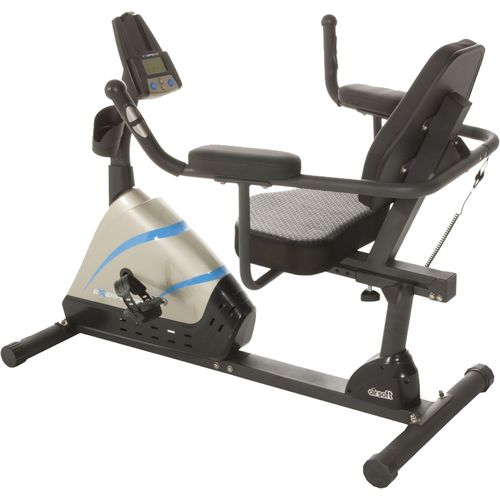 Exerpeutic 2000 High-Capacity Magnetic Recumbent Exercise Bike