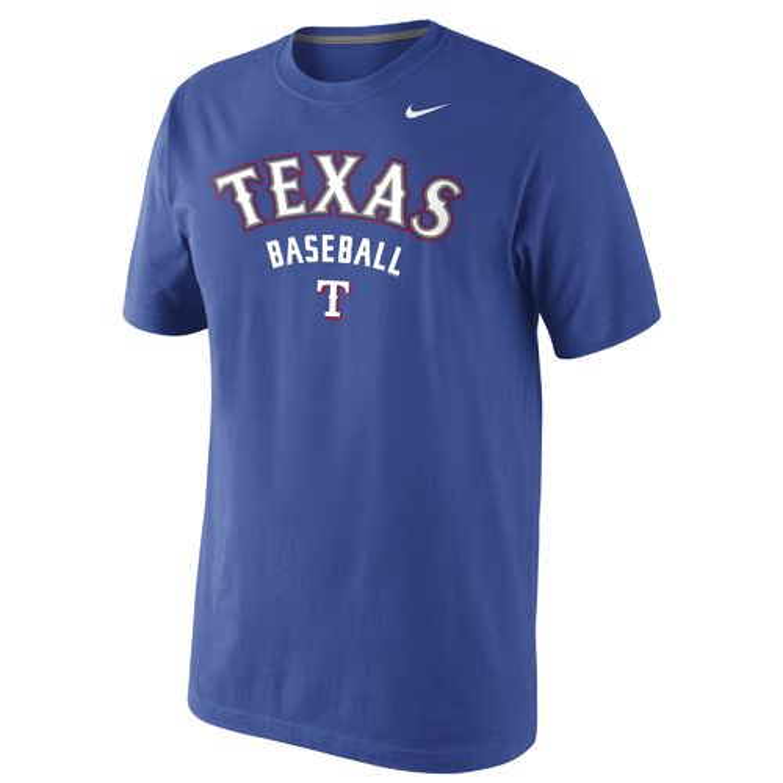 Nike Men's Texas Rangers Practice 1.4 T-shirt