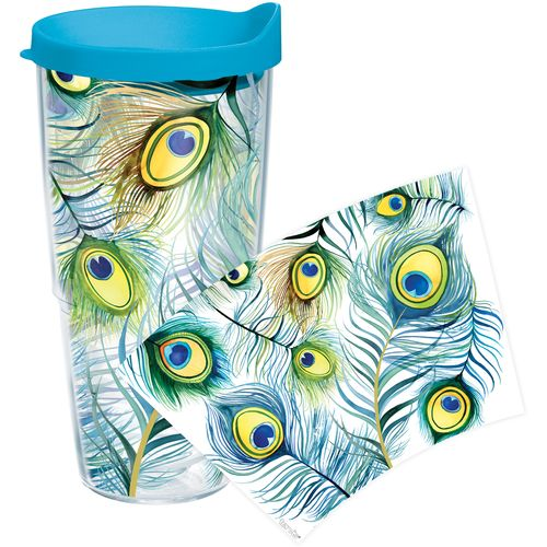 Tervis Peacock Wrap 24 oz. Tumbler with Lid