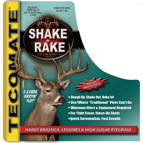 Display product reviews for Tecomate SHAKE & RAKE 5 lb. Food Plot Seed