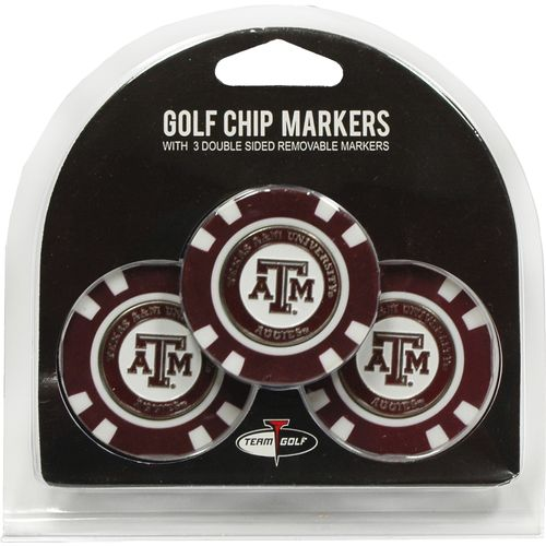 Team Golf NCAA Triple Chipper Golf Ball Markers