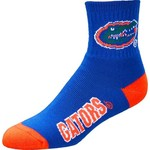 For Bare Feet Men's University of Florida Originals Team Quarter Socks