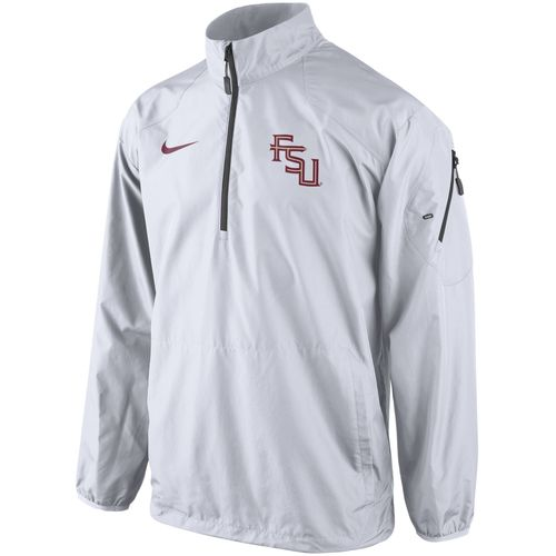 Nike Men s Florida State University Lockdown 1/2 Zip Jacket