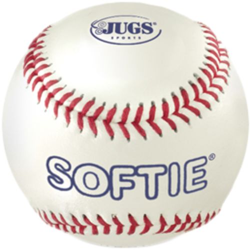 JUGS Softie Genuine Leather Baseballs 12-Pack