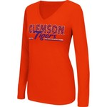 Colosseum Athletics Women's Clemson University Gleam T-shirt