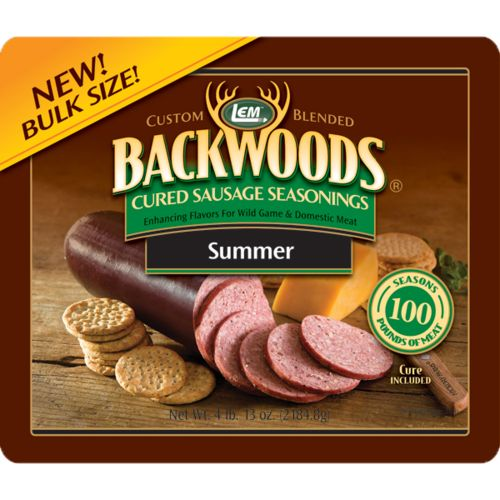 Display product reviews for LEM Summer Sausage Seasoning Bucket