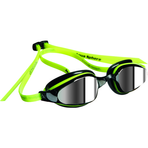 Aqua Sphere Adults' K180 Mirrored Swim Goggles