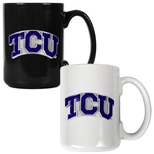 Great American Products Texas Christian University 15 oz. Coffee Mugs 2-Pack