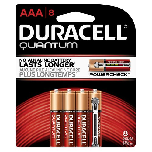 Display product reviews for Duracell Quantum AAA Batteries 8-Pack