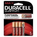 Duracell Quantum AAA Batteries 8-Pack - view number 1