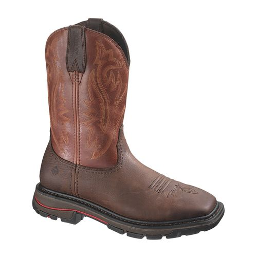 Wolverine Men's Javelina Western Steel-Toe EH Wellington Work Boots