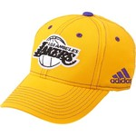adidas™ Kids' Los Angeles Lakers Bright Structured Flex Cap