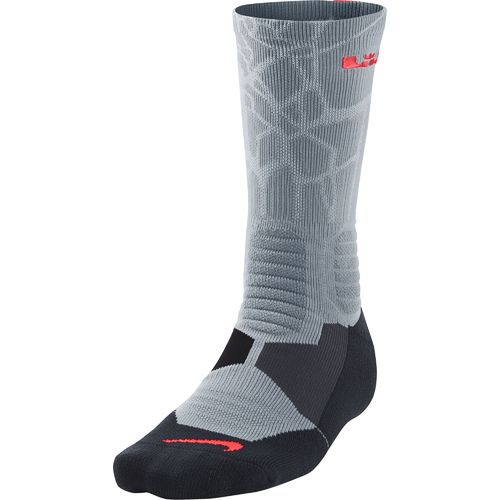 Nike Adults' LeBron Elite Basketball Crew Socks