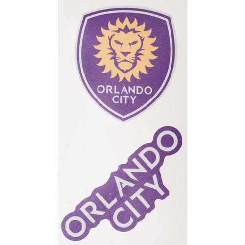 WinCraft Orlando City SC Perfect Cut Decals 2-Pack