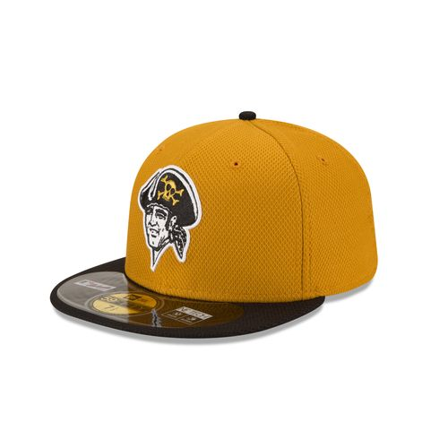 New Era Men's Pittsburgh Pirates 2015 Alternate Color Diamond Era Cap