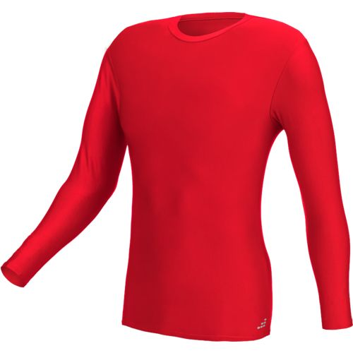 BCG Men's Cold Weather Basic Long Sleeve Solid Baselayer T-shirt