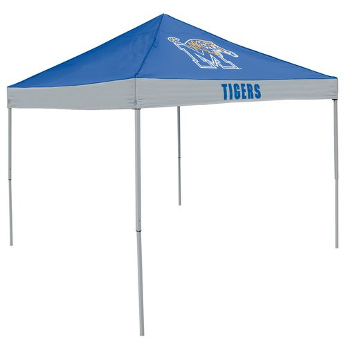 Logo University of Memphis Straight-Leg 9 ft x 9 ft Economy Tent