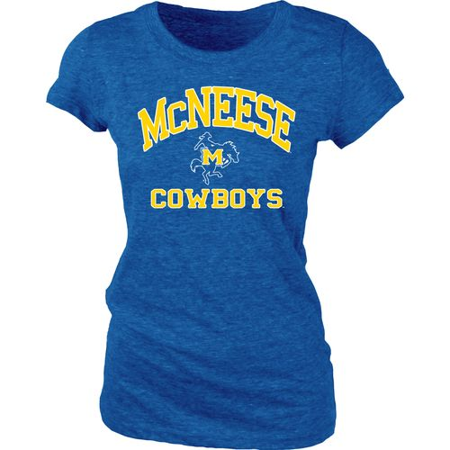 Blue 84 Juniors' McNeese State University Triblend T-shirt