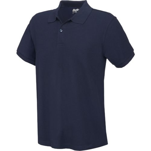 Austin Trading Co. Men's Short Sleeve Performance Pique Polo Uniform Shirt