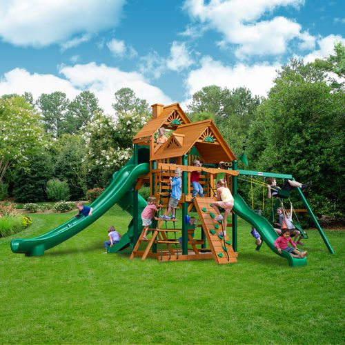 Gorilla Playsets™ Great Skye II Swing Set with Timber Shield™ - view number 2