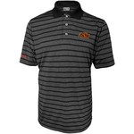 Majestic Men's Oklahoma State University Section 101 Heather Stripe Golf Polo Shirt