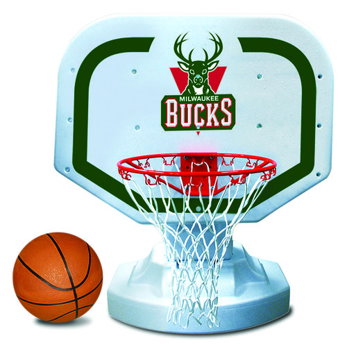 Poolmaster® Milwaukee Bucks Competition Style Poolside Basketball Game