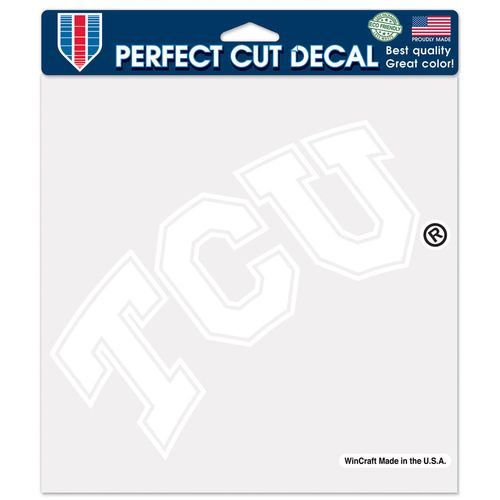 WinCraft Texas Christian University Perfect Cut Decal