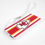 Mizco Kansas City Chiefs Sports Powerbar Phone Charger