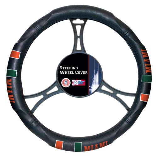 The Northwest Company University of Miami Steering Wheel Cover