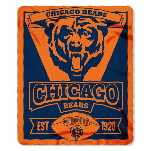 The Northwest Company Chicago Bears Marquee Fleece Throw