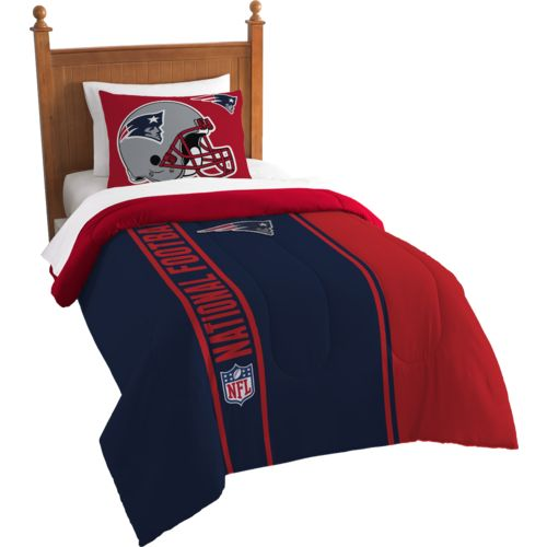 The Northwest Company New England Patriots Twin Comforter and Sham Set